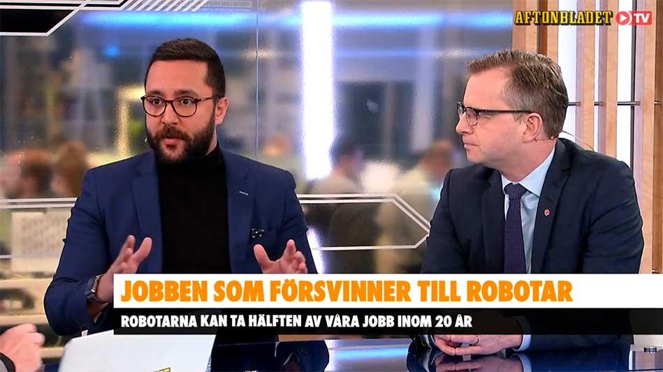 Jobben som försvinner - till robotar